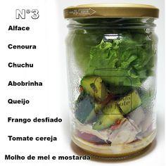 Salada no pote nº3 | Toque Light | Quer ganhar massa ou perder peso
