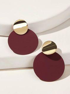 Fancy Jewellery, Fancy Earrings, Jewelry Design Earrings, Gold Earrings Designs, Ear Jewelry, Stylish Jewelry, Designer Earrings, Clay Earrings, Fashion Earrings