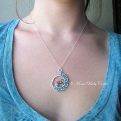 Mini Water Birth Babe- Abstract for Mother, Doula, Midwife, Home Birth, Gift