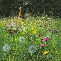 Field, Flowers and Farm - Paul Evans. One of my favourite Paul Evans. I have this on my wall, signed limited edition print.