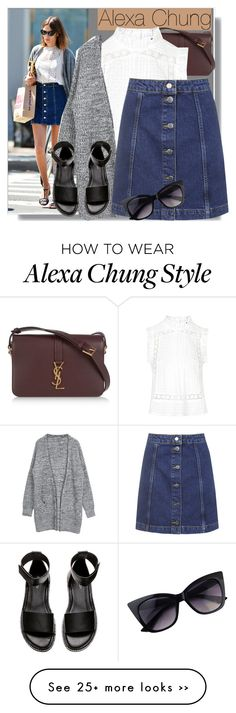 """""""Alexa Chung Style"""" by solinestyle on Polyvore"""