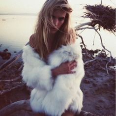 SALE❗️Authentic White Rabbit Fur Jacket Coat 100% rabbit fur coat: fur origin is France and coat is made in Korea. Gorgeous coat, and in perfect condition! Jackets & Coats