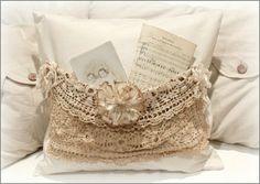 pinterest vintage pillows | Vintage Pocket Pillow - 48.00 - This is a vintage pocket pillow that ...