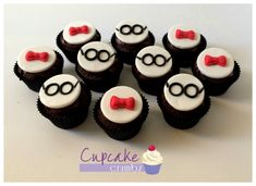 Peabody & Sherman inspired cupcakes