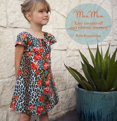 Jacinda from Pretty Prudent (that's the new name for Prudent Baby) shares a free pattern for making a summer MuuMuu for little girls.  Elastic at the neck makes it easy for kids to put on or take off.  The pattern should fit most kids ages 3-6.  If you need a different size, the pattern is just two pieces so it should be fairly easy to adjust.  Get the pattern and tutorial at Prudent Baby.
