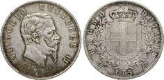 NumisBids: Numismatica Varesi s.a.s. Auction 65, Lot 665 : SAVOIA - VITTORIO EMANUELE II (1861-1878) 5 Lire 1864 Napoli. MIR...