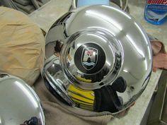 German-made hub cap, a real find! Hub Caps, Cotton Candy, German, Kitchen Appliances, Classic, Tableware, Wolfsburg, Deutsch, Diy Kitchen Appliances