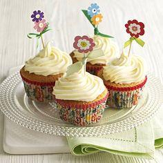 Spring flowers cupcake kit.