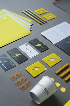 Sport Soul Logo & Corporate Identity by Ipek Eris, via Behance #Branding #CorporateIdentity #LogoDesign