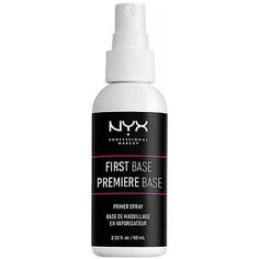The Nyx Professional Makeup First Base Primer Spray is a lightweight mist that creates a smooth canvas for impeccable makeup application Color: Clear. Nyx Professional Makeup First Base Primer Spray - fl oz Clear Make Up Primer, Face Primer, Flawless Makeup, Skin Makeup, Makeup Stuff, Eyebrow Makeup, Makeup Crew, Makeup Products, Beauty