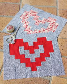 Valentine's Day is just around the corner, it must be time for a heart quilt pattern! Although, this block isn't strictly for Valentine's Day – it could be used any time of the year for anyone you love. Heart patterns are an especially lovely way to welcome a new baby or celebrate a newly married …
