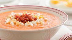 Salmorejo, ou soupe froide andalouse.