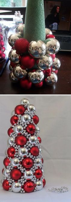 DIY Ornament Tree.