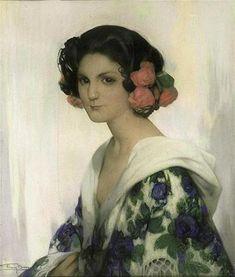 """""""Carminella"""" -- by Firmin Baes (Belgian, 1874–1945)"""