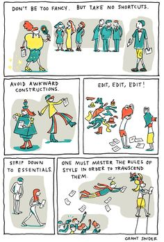 INCIDENTAL COMICS: W