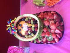 Our try at our Fruit Baby bowl!
