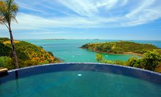Delamore Lodge [Waiheke, New Zealand] Hotels And Resorts, Best Hotels, Waiheke Island, Hotel Pool, Spa Day, Jacuzzi, New Zealand, Swimming Pools, Luxury