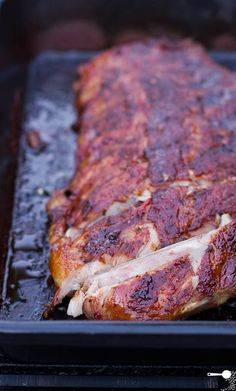 Chilli and Beer Barbecue Pork Ribs ...includes dry rub and marinade