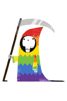 Death In Technicolor by Monster Riot, via Flickr