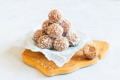 Peanut Butter and Coconut Protein Balls