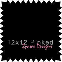 2paws Designs: Friday Freebie - 12x12 Pinked Paper #scrapbooking #digiscrap #free
