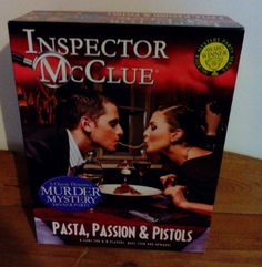 murder mystery game pasta passion and pistols