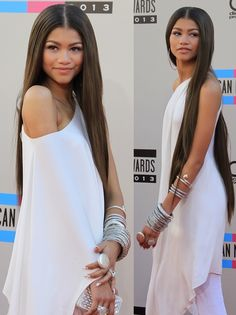 Zendaya Coleman in Towering 160 mm Christian Louboutin Stripper Heels PS does anyone notice her new hair length