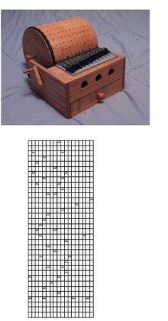 build a programmable mechanical music box