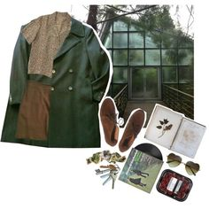 Green. by trvman on Polyvore featuring Givenchy, Maje, FOSSIL and ...Lost