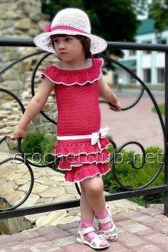 so many ideas here for little girls crochet