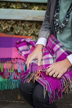 Avoca is known for its signature colored woolen throws—they're every bit as comfortable as they are cheerful, and they're woven at one of the oldest mills in Ireland. You can visit their flagship store and see the mill in action in the hills of Wicklow, or stop by their city center shop for one of your own. Shop in person or online at Avoca.