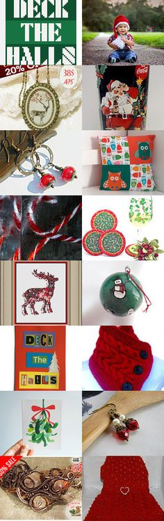 Christmas Shopping by Rhian on Etsy--Pinned with TreasuryPin.com