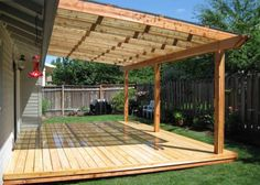 Wooden Patio Covers | Patio Cover 1