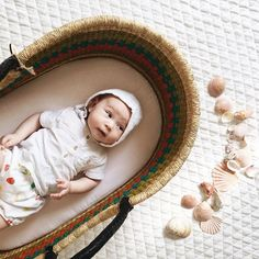 Did You Know These Moses Baskets Can Double Function As A Beach Bag To  Carry All Your Needs To The Beach, And As A Bed For Your Baby, ... Good Ideas