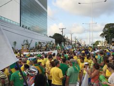 RN POLITICA EM DIA: PM ESTIMA QUE 12 MIL PESSOAS PROTESTARAM CONTRA DI...