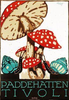 Paddehatten (The Toadstool), Tivoli, 1915 - Andreasen & Lachmann