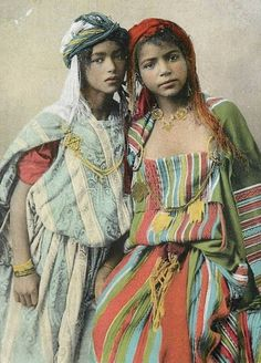 Ouled Nail dancers of Algeria