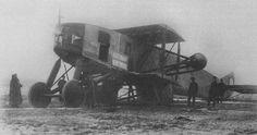 Svyatogor - huge WWI bomber prototype  https://en.m.wikipedia.org/wiki/Slesarev_Svyatogor