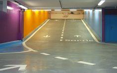 GRAPHIC AMBIENT » Blog Archive » Aubervilliers Car Park, France