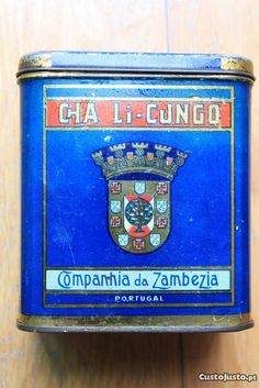 Colonial, African Image, Portugal, Maputo, Tins, Portuguese, Places, Vintage, Advertising