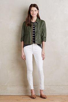 white jeans + update + wardrobe workhorse