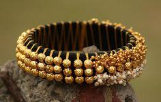 beaded thread bangles designs