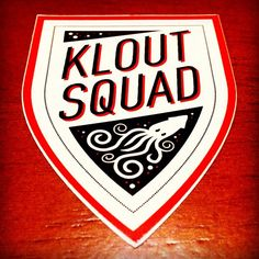 #KloutSquad Stickers #Klout