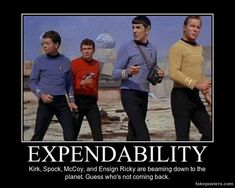 Expendability - Demotivational Poster