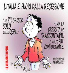 #IoSeguoItaliaComics #satira #politica #recessione #Pil