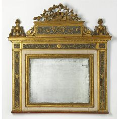 An Italian Neoclassical painted and parcel-gilt overmantel mirror<br>late 18th century | lot | Sotheby's