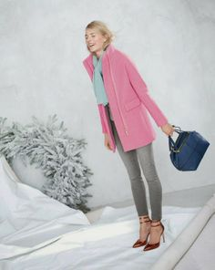 Julie Leah: A life & style blog | Perfectly Pastel: J. Crew December Style Guide
