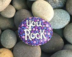 mujer medicina / pintado rocas / pintado por LoveFromCapeCod