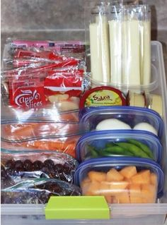 Snack station - prepping a snack station for the week will prevent overindulgence in junk after school, poor snacking habits while cooking dinner, sabotaging a healthy dinner with late night junk. #charlottepediatricclinic