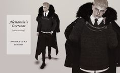 My Sims 3 Blog: Alemancia's Overcoat Accessory by M1ssduo.tumblr